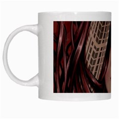 Beautiful Women Fantasy Art White Mugs