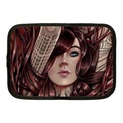 Beautiful Women Fantasy Art Netbook Case (medium)