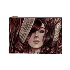 Beautiful Women Fantasy Art Cosmetic Bag (large)