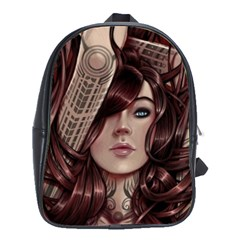 Beautiful Women Fantasy Art School Bags(large)