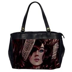 Beautiful Women Fantasy Art Office Handbags