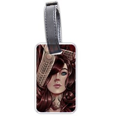 Beautiful Women Fantasy Art Luggage Tags (one Side)