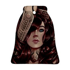 Beautiful Women Fantasy Art Bell Ornament (two Sides)
