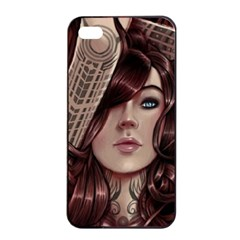 Beautiful Women Fantasy Art Apple iPhone 4/4s Seamless Case (Black)