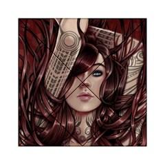 Beautiful Women Fantasy Art Acrylic Tangram Puzzle (6  x 6 )