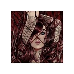 Beautiful Women Fantasy Art Acrylic Tangram Puzzle (4  X 4 )