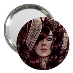 Beautiful Women Fantasy Art 3  Handbag Mirrors