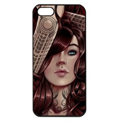 Beautiful Women Fantasy Art Apple Iphone 5 Seamless Case (black)