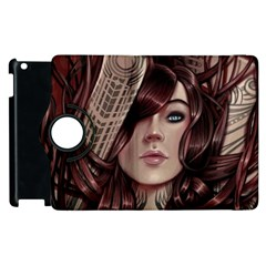 Beautiful Women Fantasy Art Apple Ipad 3/4 Flip 360 Case