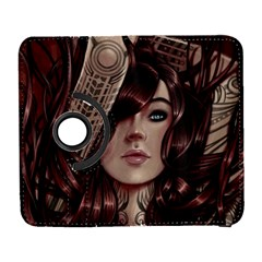 Beautiful Women Fantasy Art Galaxy S3 (flip/folio)