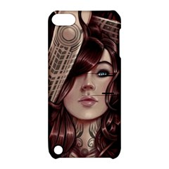 Beautiful Women Fantasy Art Apple iPod Touch 5 Hardshell Case with Stand