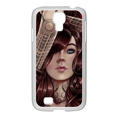 Beautiful Women Fantasy Art Samsung GALAXY S4 I9500/ I9505 Case (White)