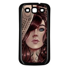 Beautiful Women Fantasy Art Samsung Galaxy S3 Back Case (black)