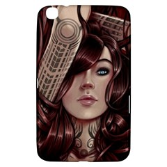 Beautiful Women Fantasy Art Samsung Galaxy Tab 3 (8 ) T3100 Hardshell Case