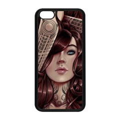 Beautiful Women Fantasy Art Apple Iphone 5c Seamless Case (black)