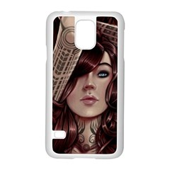 Beautiful Women Fantasy Art Samsung Galaxy S5 Case (white)