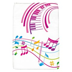 Musical Notes Pink Flap Covers (S)