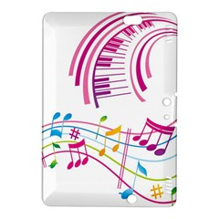 Musical Notes Pink Kindle Fire HDX 8.9  Hardshell Case