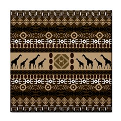 African Vector Patterns  Tile Coasters