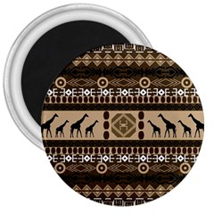 African Vector Patterns  3  Magnets