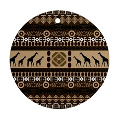 African Vector Patterns  Ornament (round)