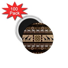 African Vector Patterns  1 75  Magnets (100 Pack)