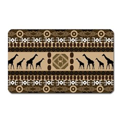 African Vector Patterns  Magnet (rectangular)