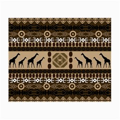 African Vector Patterns  Small Glasses Cloth (2 Side)