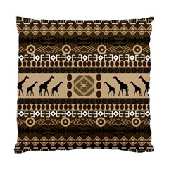 African Vector Patterns  Standard Cushion Case (two Sides)