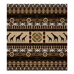 African Vector Patterns  Shower Curtain 66  X 72  (large)