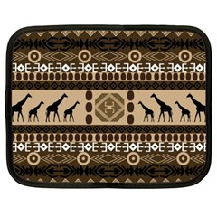 African Vector Patterns  Netbook Case (xxl)