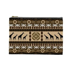 African Vector Patterns  Cosmetic Bag (large)