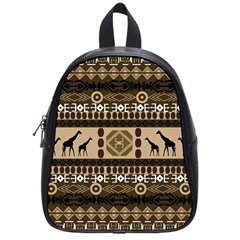 African Vector Patterns  School Bags (small)