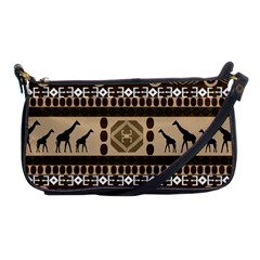 African Vector Patterns  Shoulder Clutch Bags