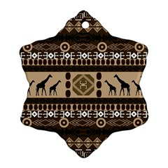 African Vector Patterns  Ornament (Snowflake)