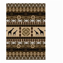 African Vector Patterns  Small Garden Flag (two Sides)