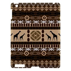 African Vector Patterns  Apple Ipad 3/4 Hardshell Case