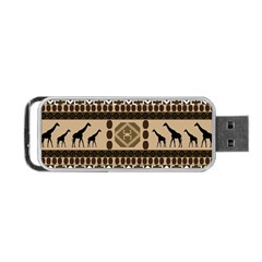 African Vector Patterns  Portable USB Flash (One Side)
