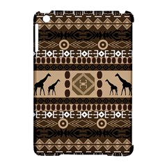 African Vector Patterns  Apple Ipad Mini Hardshell Case (compatible With Smart Cover)