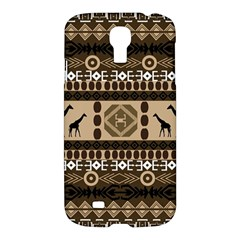 African Vector Patterns  Samsung Galaxy S4 I9500/I9505 Hardshell Case