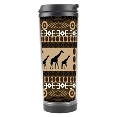 African Vector Patterns  Travel Tumbler