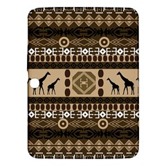 African Vector Patterns  Samsung Galaxy Tab 3 (10.1 ) P5200 Hardshell Case