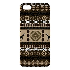 African Vector Patterns  Iphone 5s/ Se Premium Hardshell Case