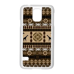 African Vector Patterns  Samsung Galaxy S5 Case (white)