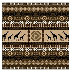 African Vector Patterns  Large Satin Scarf (square)