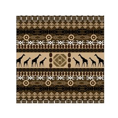 African Vector Patterns  Small Satin Scarf (square)