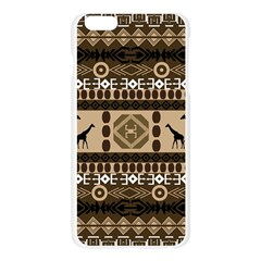 African Vector Patterns  Apple Seamless iPhone 6 Plus/6S Plus Case (Transparent)