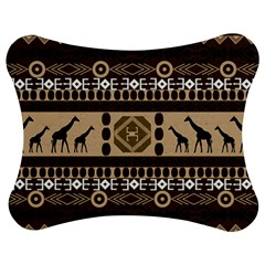 African Vector Patterns  Jigsaw Puzzle Photo Stand (bow)
