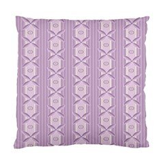 Flower Star Purple Standard Cushion Case (two Sides)