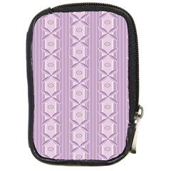 Flower Star Purple Compact Camera Cases